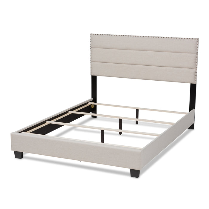 Ansa Modern and Contemporary Wood Bed