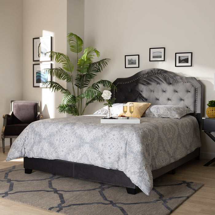Samantha Modern Tufted Bed
