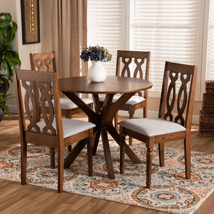 Callie Modern Wood (5-Piece) Dining Set