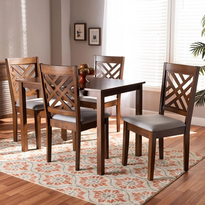 Caron Modern Wood (5-Piece) Dining Set