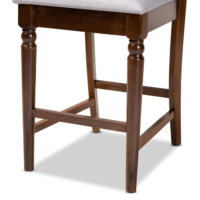 Oscar Modern Wood Counter Stool