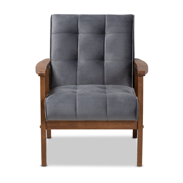 Asta Mid-Century Wood Chair