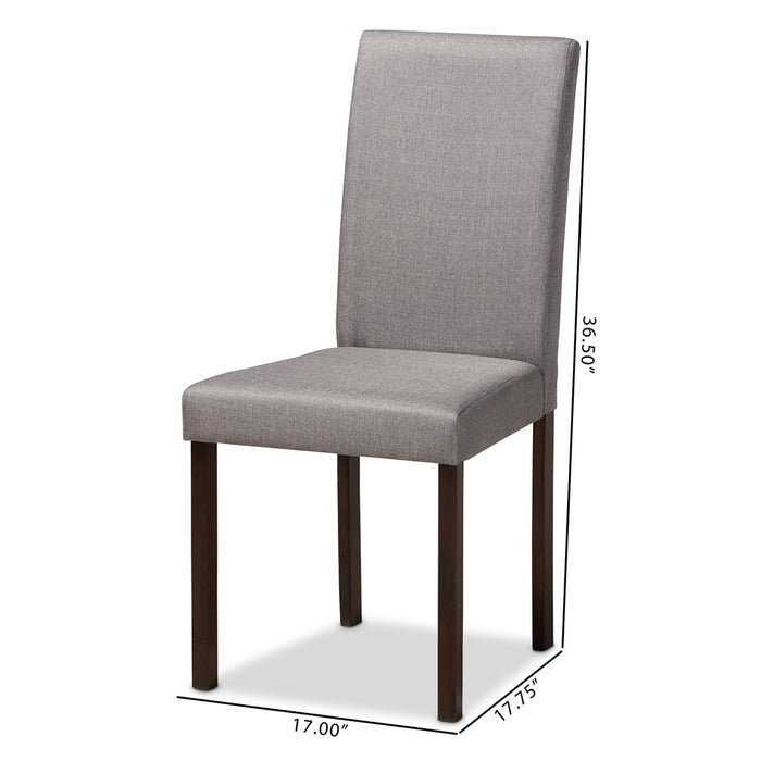 Andrew Contemporary (Set of 2) Wood Dining Chair
