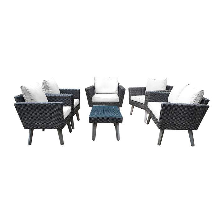 Kotka (6 Piece) Outdoor Seating Set With Cushions