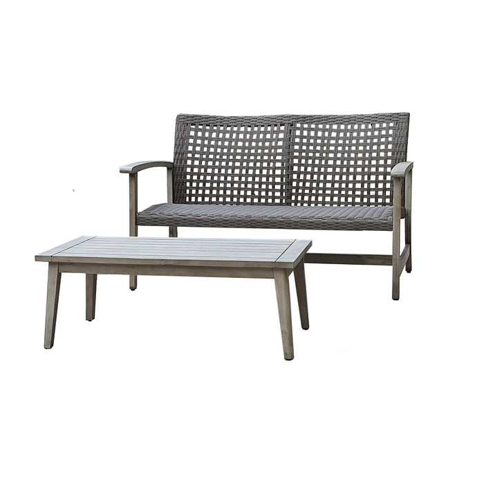 Monterosso (2 Piece) Sofa and Table Seating Set