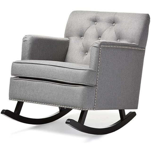Bethany Contemporary  Tufted Rocking Chair