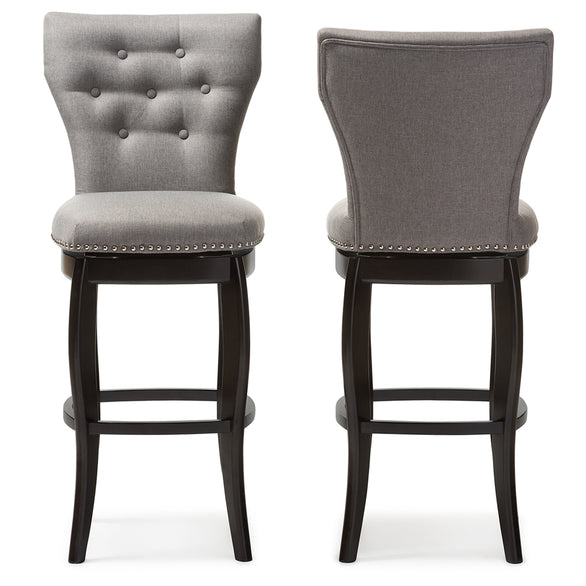 Leonice Contemporary (Set of 2) Bar Stools