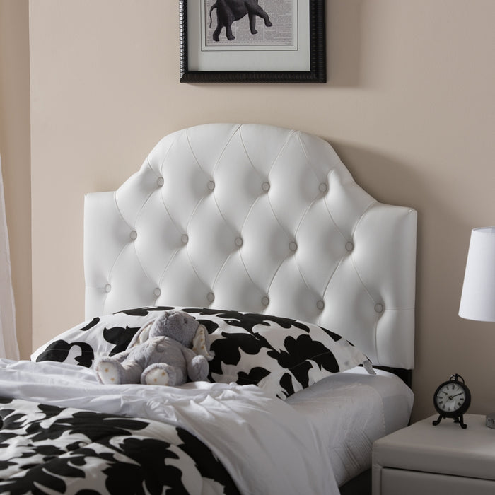 Morris Contemporary Wood Headboard