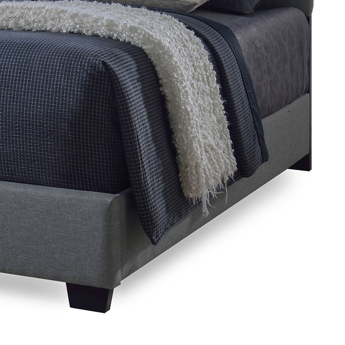 Romeo Contemporary Tufted Bed
