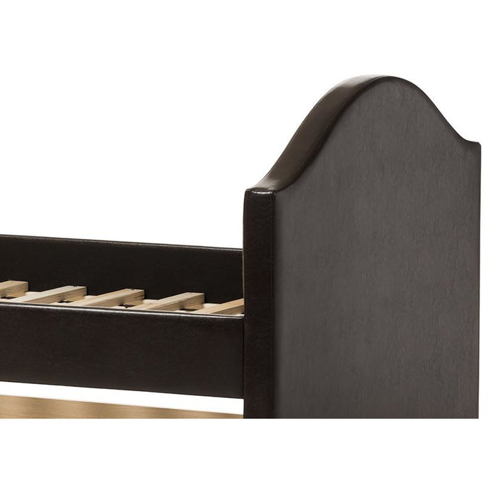 Alessia Contemporary Leather Daybed