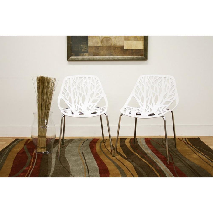 Modern Two (2) Dining Chairs