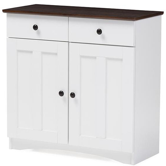 Lauren Contemporary (2-Doors 2-Drawers) Kitchen Cabinet