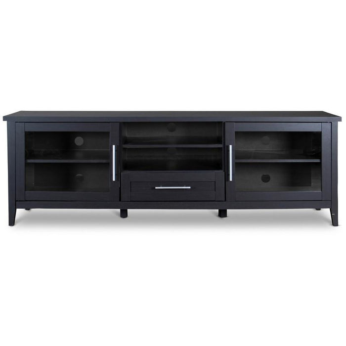 Espresso Contemporary Wood TV Stand