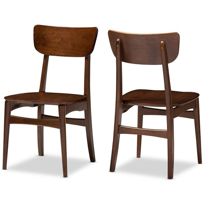 Netherlands Two (2) Dining Chairs