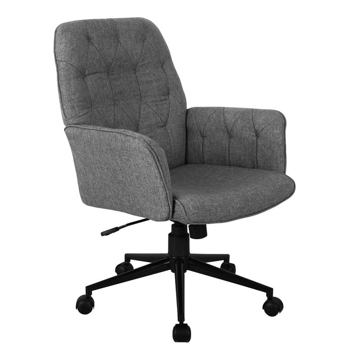 Techni Mobili Modern Upholstered Office Chair