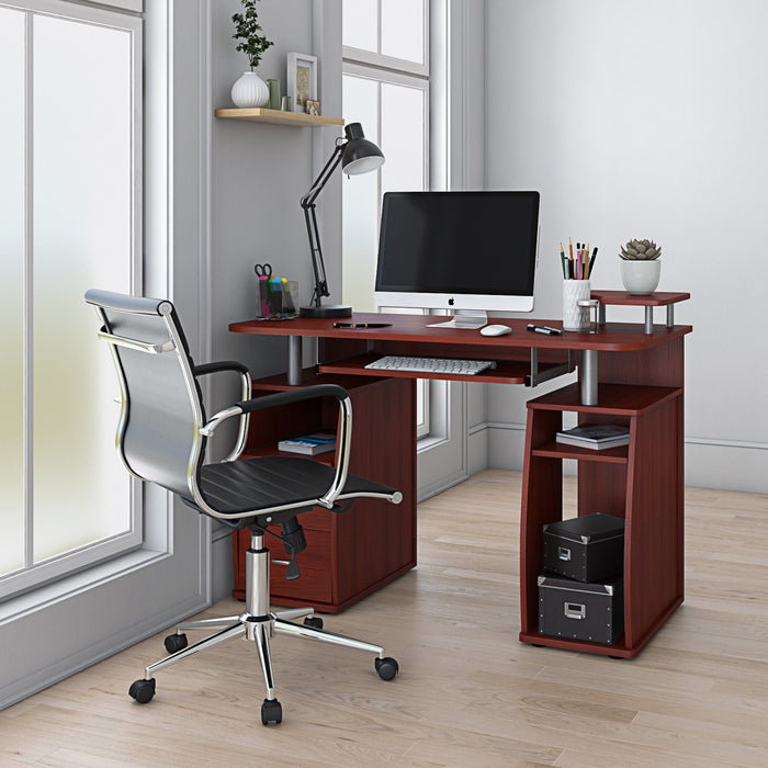 Techni Mobili Modern Complete Workstation Desk