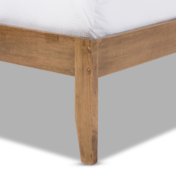 Trina Contemporary Wood Platform Bed