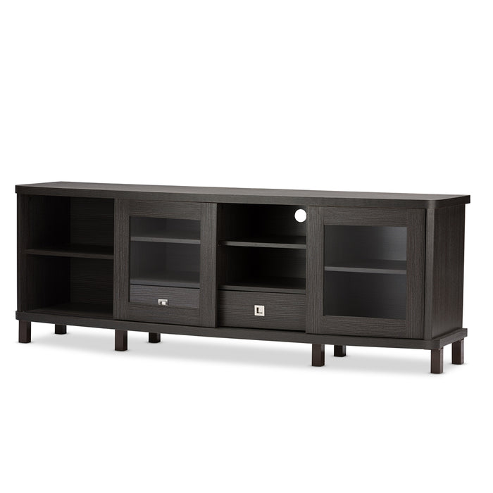 Walda Contemporary (2-Drawer) Wood TV Cabinet