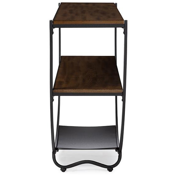 Blakes Rustic Industrial Metal Console Table