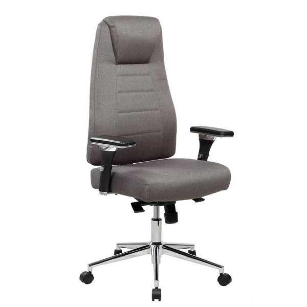 Incroyable Techni Mobili Comfy Height Adjustable Home Office Chair With Wheels