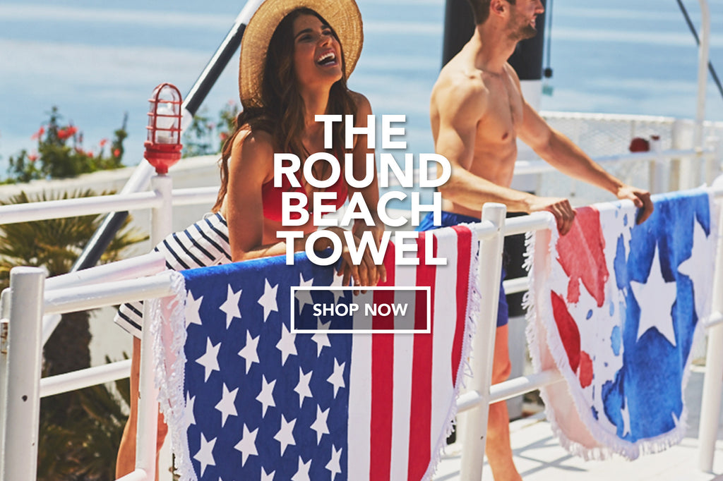 SUMMER MUST HAVE BEACH ROUND TOWELS