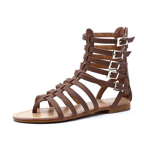 Roman Gladiator Sandals - Wave Essentials
