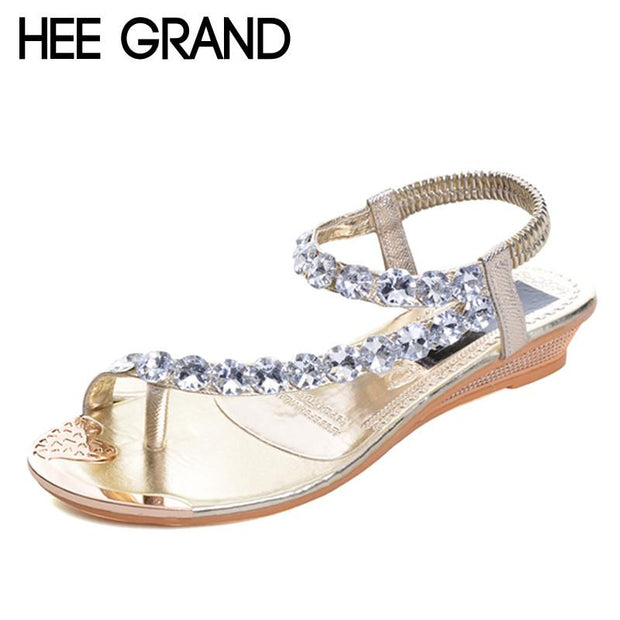 Crystal Platform Sandal - Wave Essentials