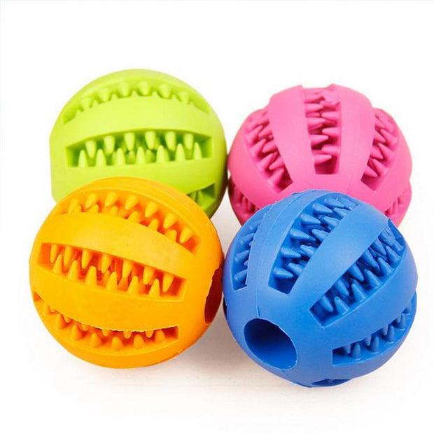 Soft Rubber Chew Ball Toy For Dogs - Wave Essentials