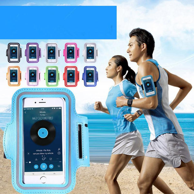 IPHONE Waterproof PU Sports Running Arm Band Phone Case - Wave Essentials