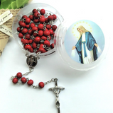 Red Rose Scented Rosary