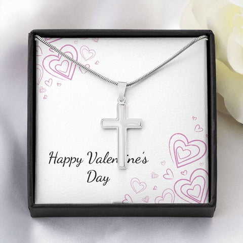 Artisan Crafted Cross Necklace
