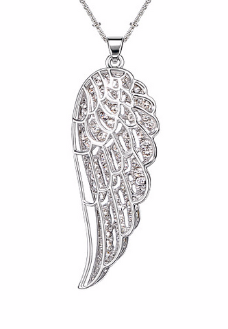 Layered Angel Wings Necklace