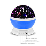 LED Moon and Stars Lamp