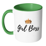 Girl Boss Accent Mug