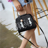 Cute Cats Shoulder Bag