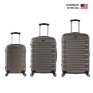 "New York 3 Piece Set 20''/24""/28''"