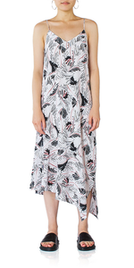 Jada Print Silk Dress
