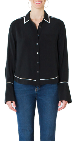 Huntley Silk Shirt