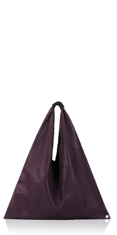 Bordeaux Triangle Tote