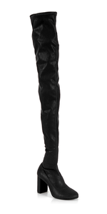 Leather Over The Knee Boot