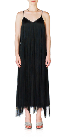 Fringed Slip Dress