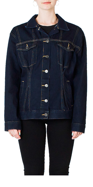 The Corset Trucker Jacket