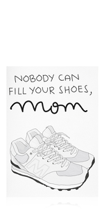 Mom Shoes Card