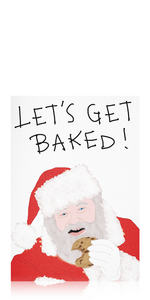Let's Get Baked Card