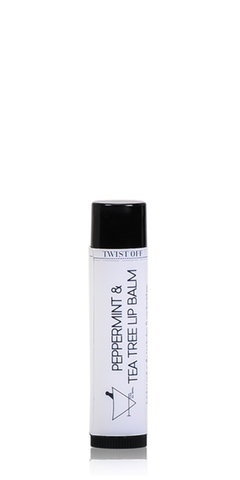 Tea tree & peppermint lip balm