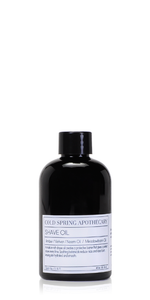 Amber & Vetiver Shave Oil