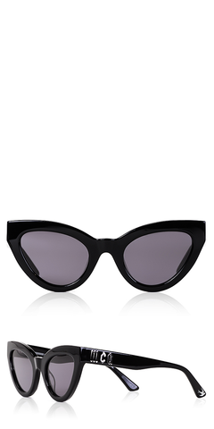 Cult Cat Eye Black Sunglasses
