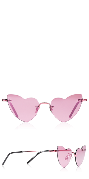 LouLou 254 New Wave Pink Sunglasses