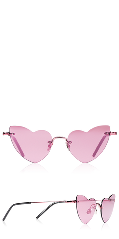 New Wave LouLou 254 Pink Sunglasses
