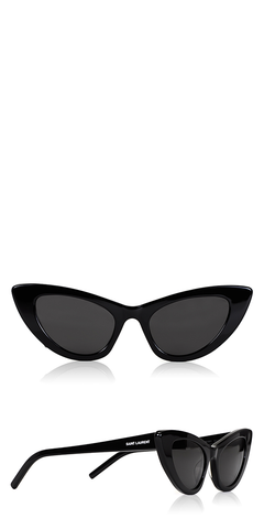 SL 213 Lily Black Sunglasses